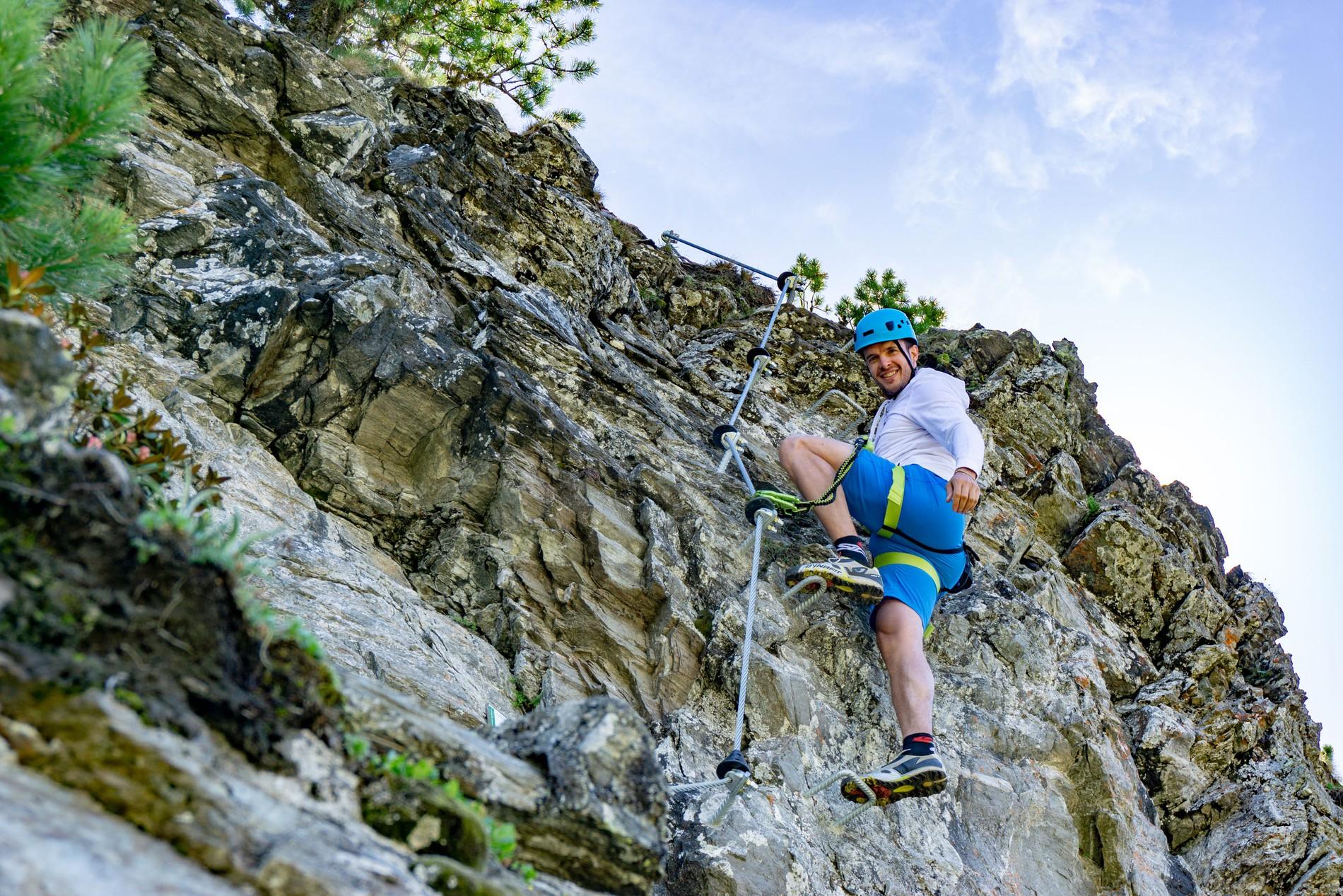 Klettersteig In English : Alberfeldkogel klettersteig feuerkogel