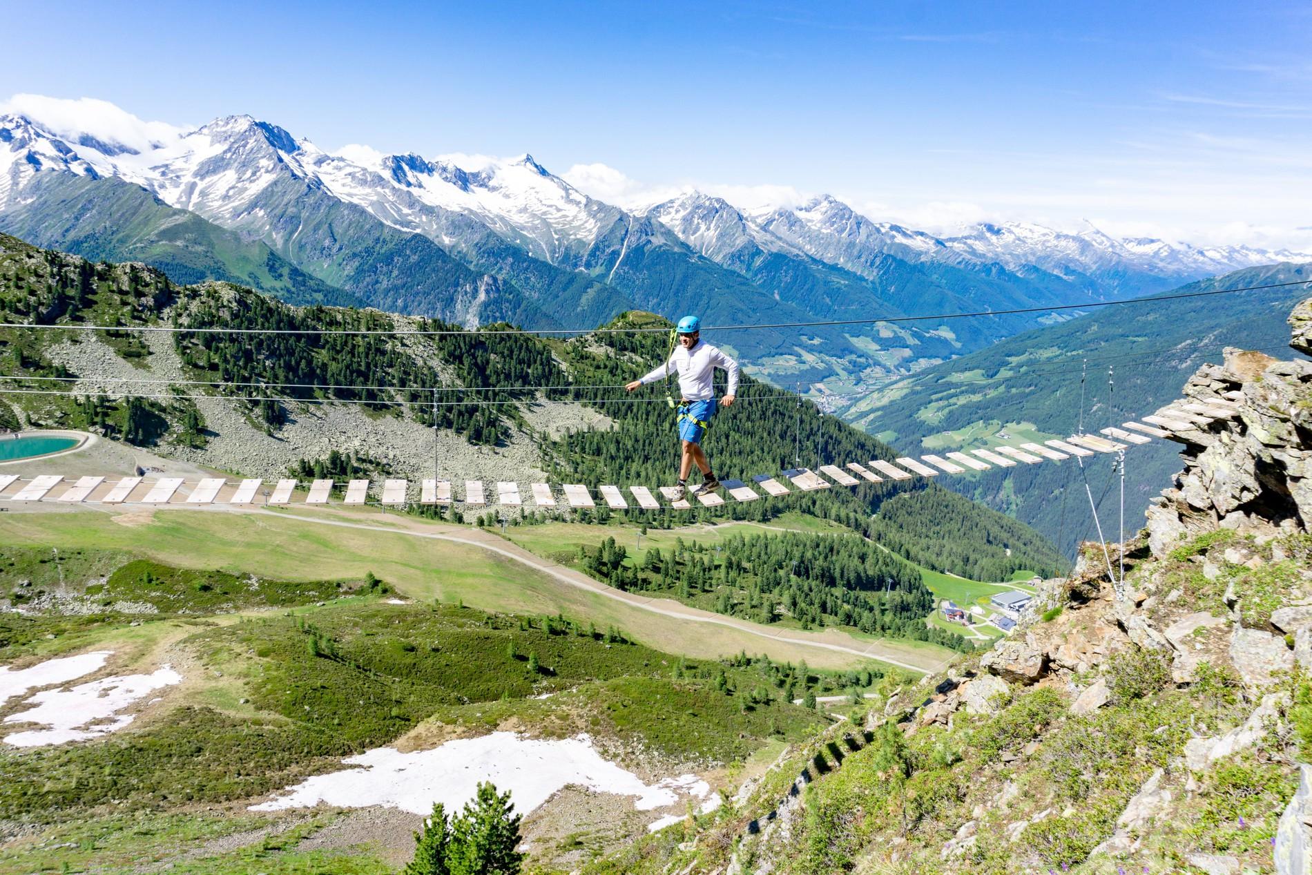 Zillertal Klettersteigset Leihen : Klettersteig speikboden u2013 skiworld ahrntal